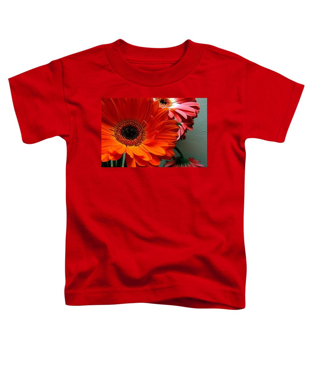 Clay Toddler T-Shirt featuring the photograph Floral Art by Clayton Bruster