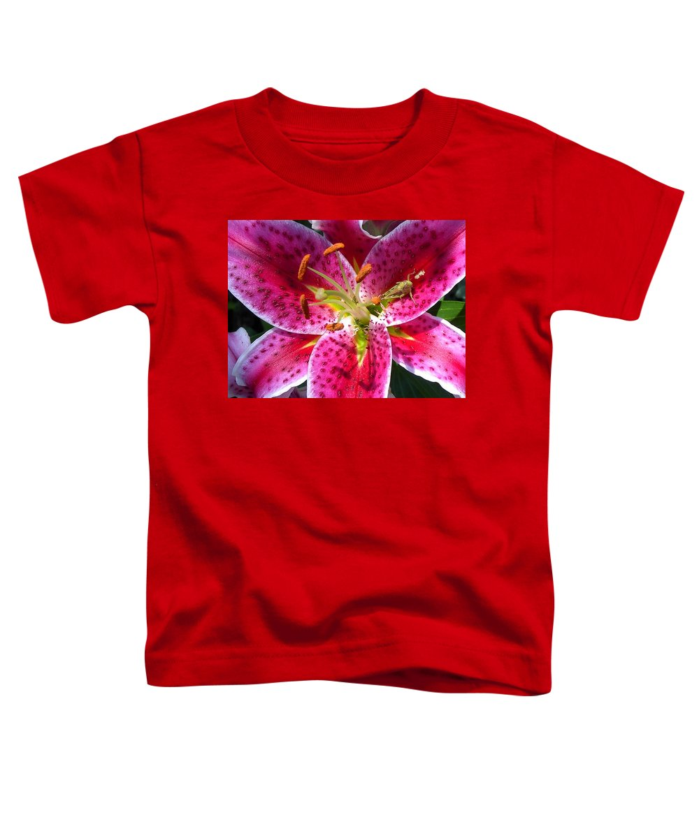 Charity Toddler T-Shirt featuring the photograph Lily by Mary-Lee Sanders