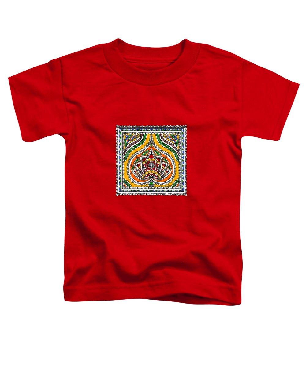 Madhubani Paintings Toddler T-Shirts