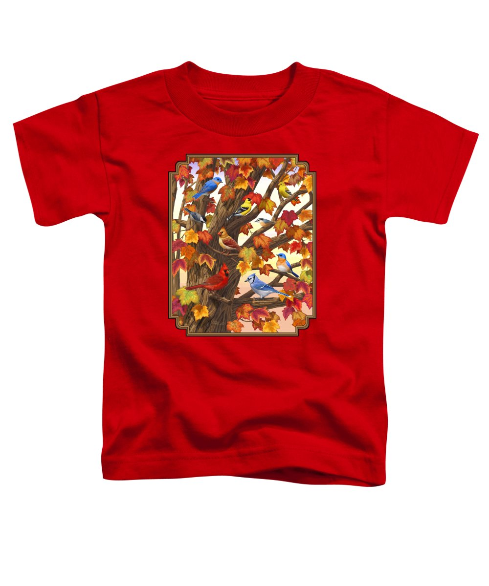 Bluejay Toddler T-Shirts