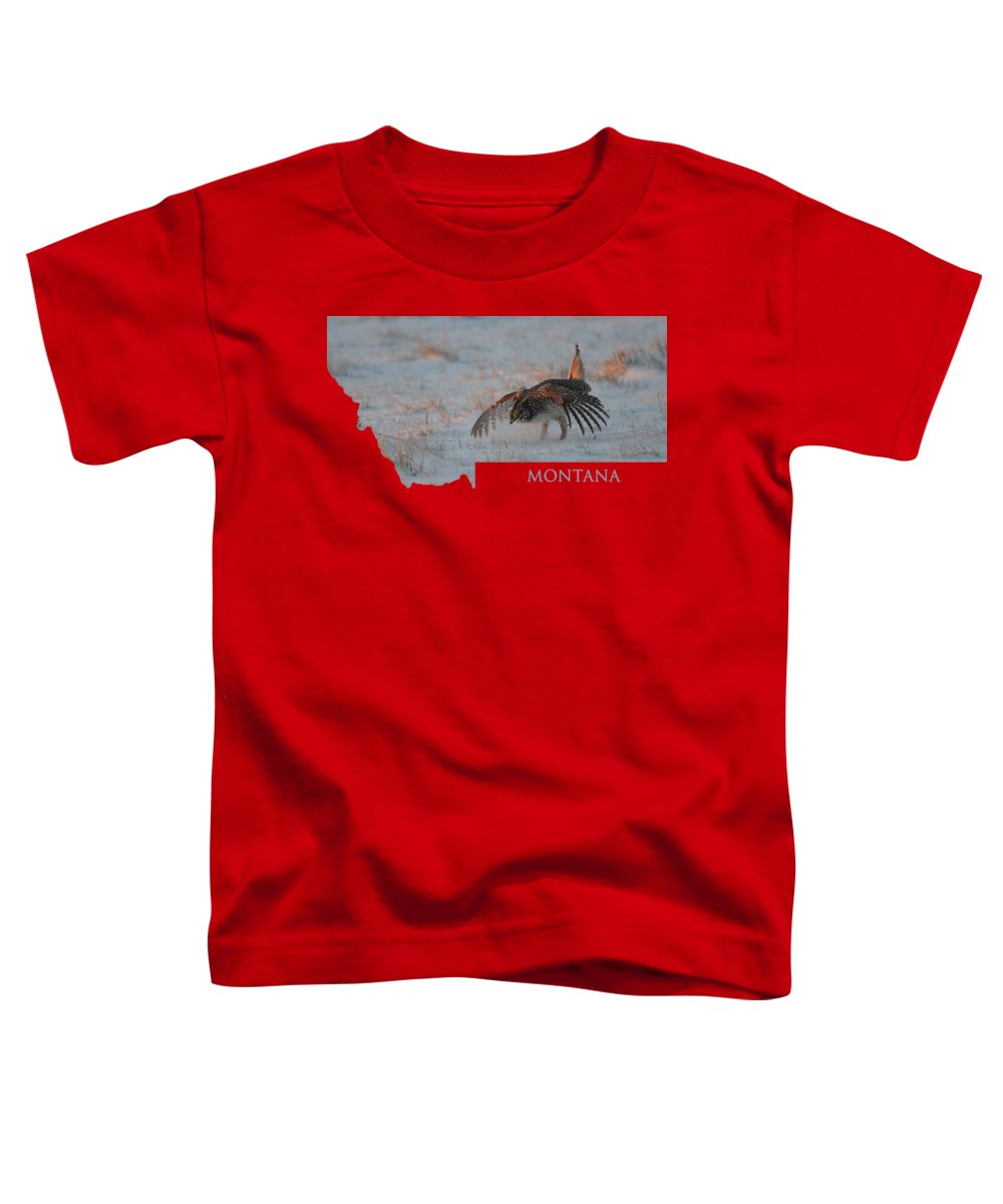Montana Toddler T-Shirt featuring the photograph Montana Sharpie by Whispering Peaks Photography