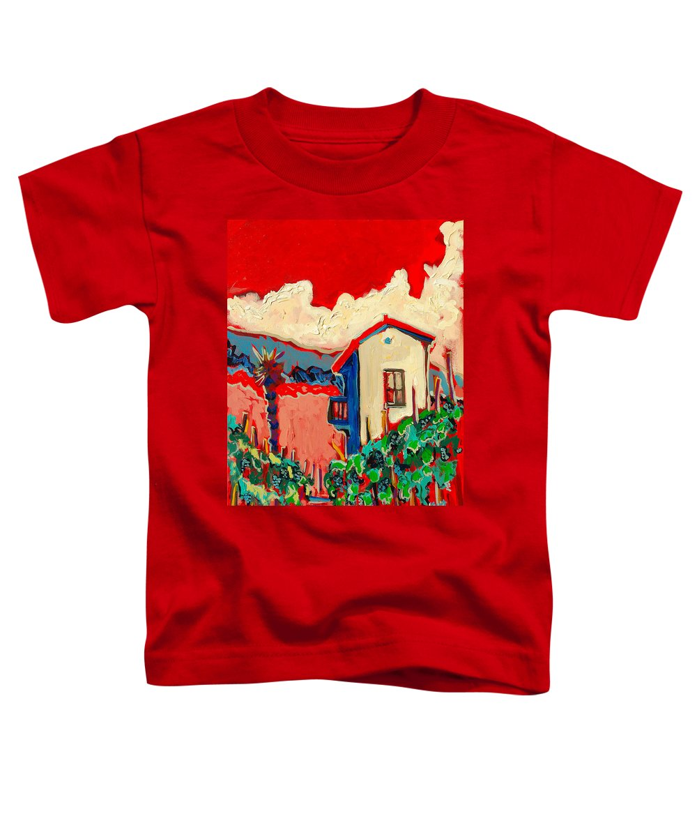 Tuscany Toddler T-Shirt featuring the painting Notare by Kurt Hausmann