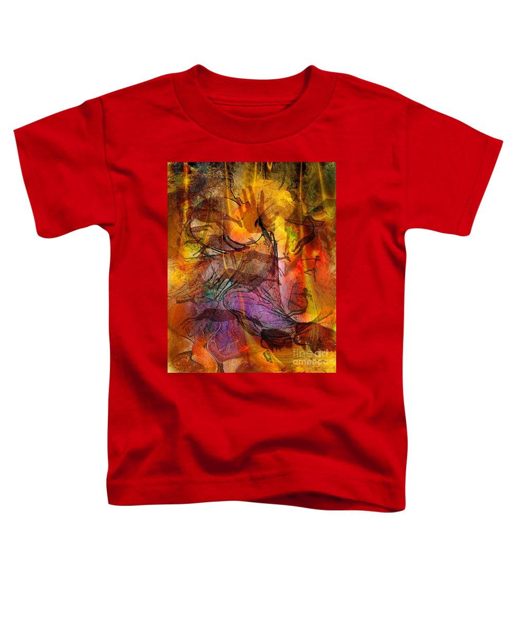 Shadow Hunters Toddler T-Shirt featuring the digital art Shadow Hunters by John Beck