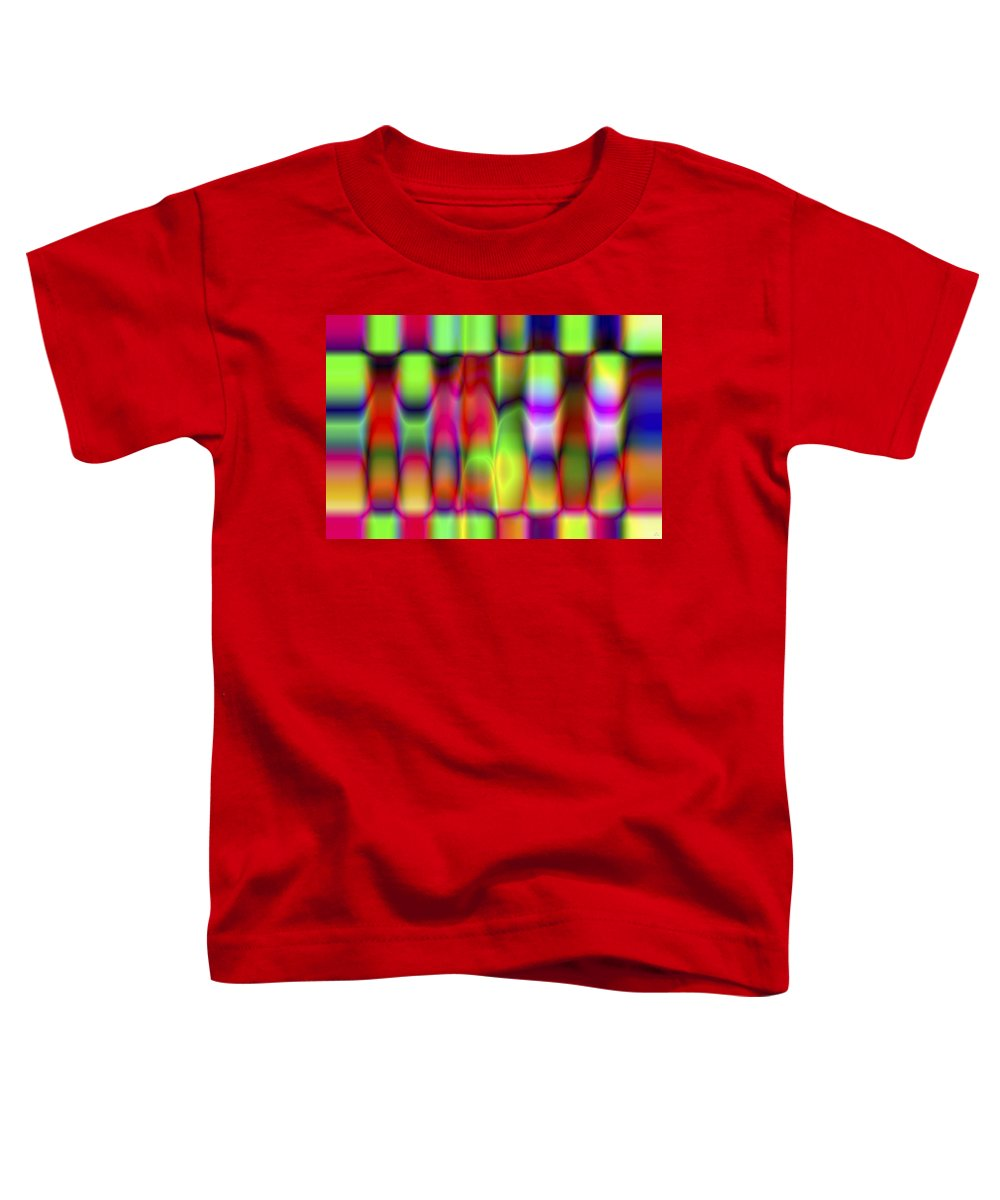 Crazy Toddler T-Shirt featuring the digital art Vision 9 by Jacques Raffin