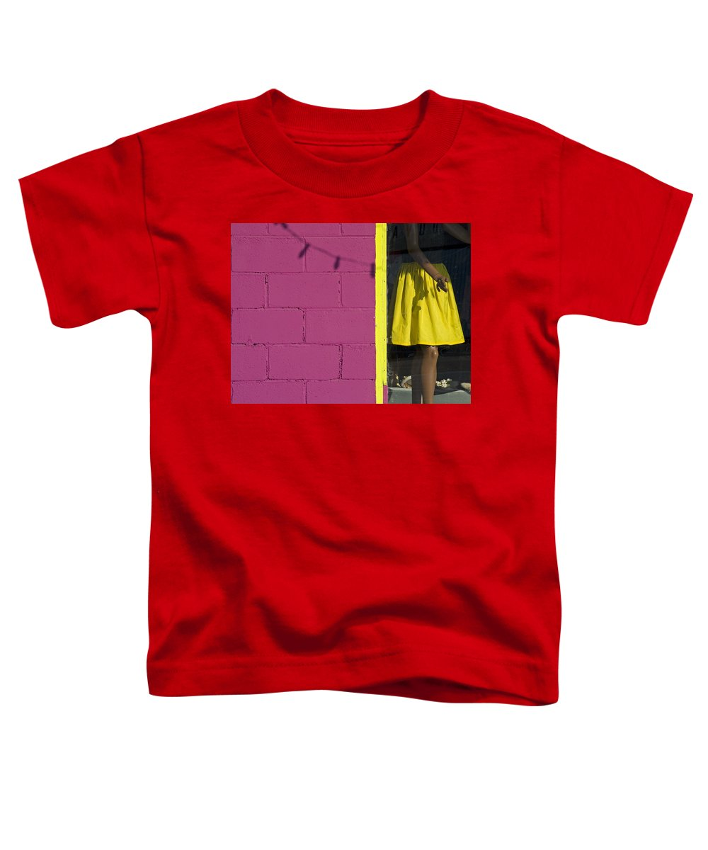 Woman Toddler T-Shirt featuring the photograph Waiting by Skip Hunt