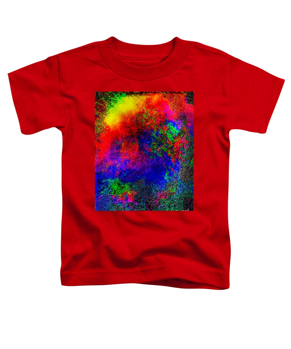 Iphone Photography Toddler T-Shirt featuring the photograph Lake Of Fire by Leona Atkinson