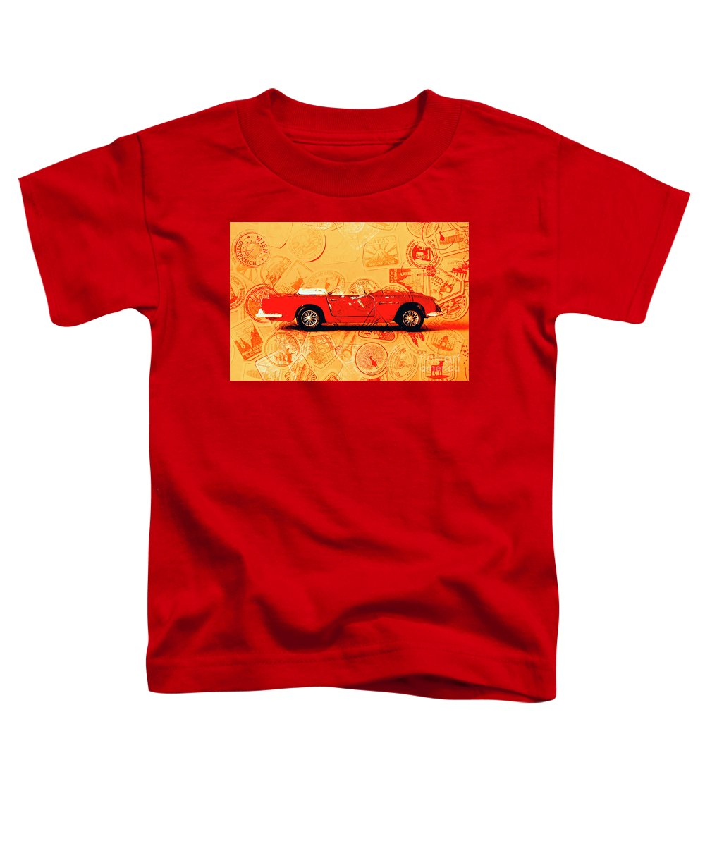 Travel Toddler T-Shirt featuring the photograph Touring Car by Jorgo Photography - Wall Art Gallery