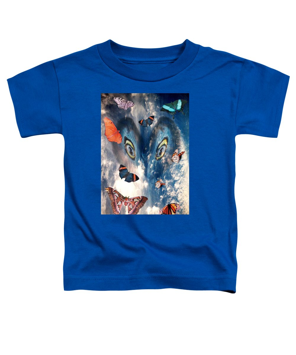 Air Toddler T-Shirt featuring the digital art Air by Lisa Yount