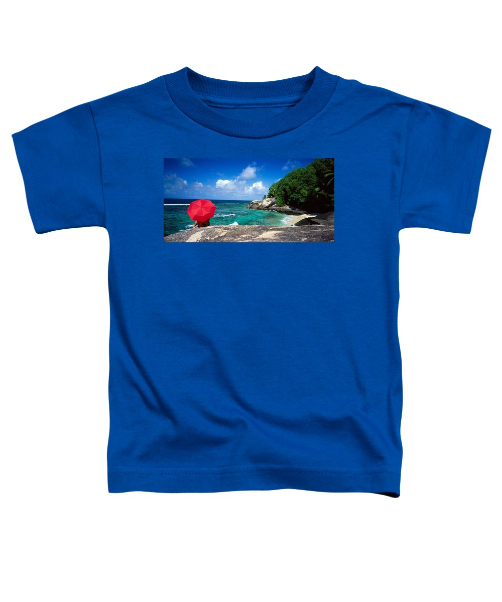 Photography Toddler T-Shirt featuring the photograph Indian Ocean Moyenne Island Seychelles by Panoramic Images