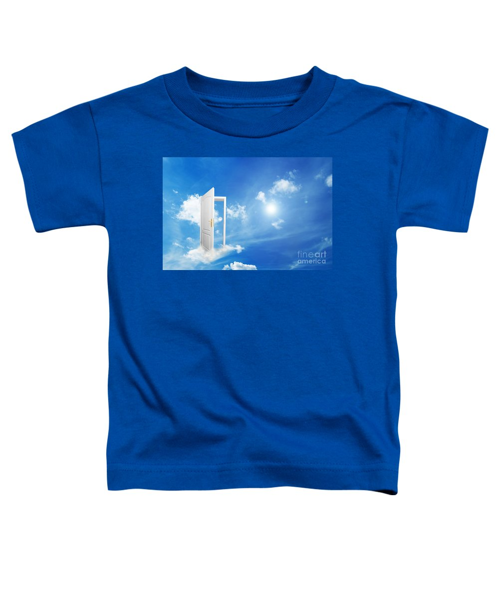 Dream Toddler T-Shirt featuring the photograph New World And New Concepts by Michal Bednarek