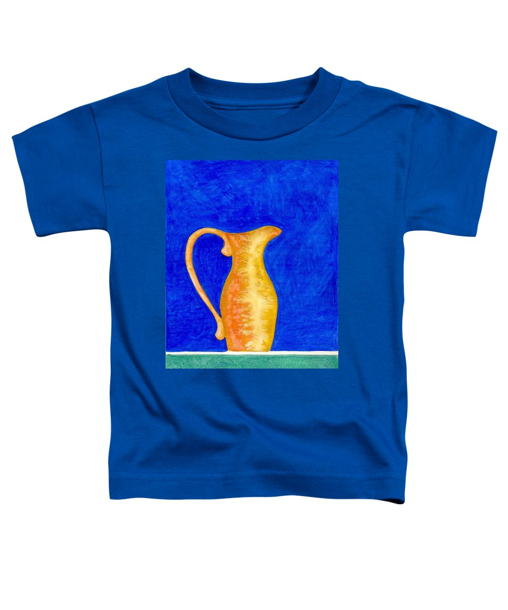 Still Life Toddler T-Shirt featuring the painting Pitcher 2 by Micah Guenther