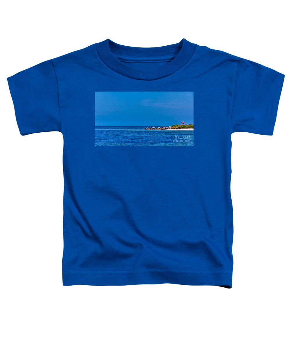 Gulf Of Mexico Toddler T-Shirt featuring the photograph So This Is The Gulf Of Mexico by Marvin Spates
