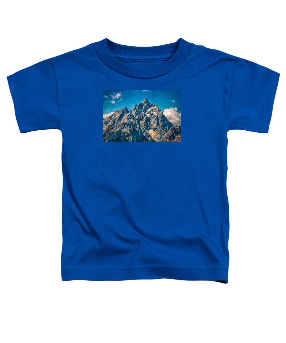 Jackson Toddler T-Shirt featuring the photograph Rugged Beauty by John M Bailey