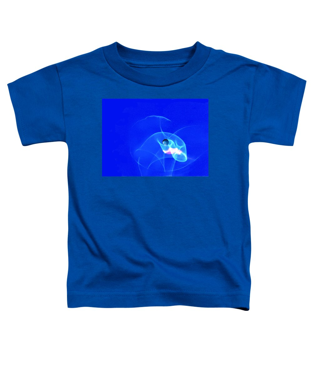 Abstract Toddler T-Shirt featuring the photograph Apparition Pearl by Steve Karol