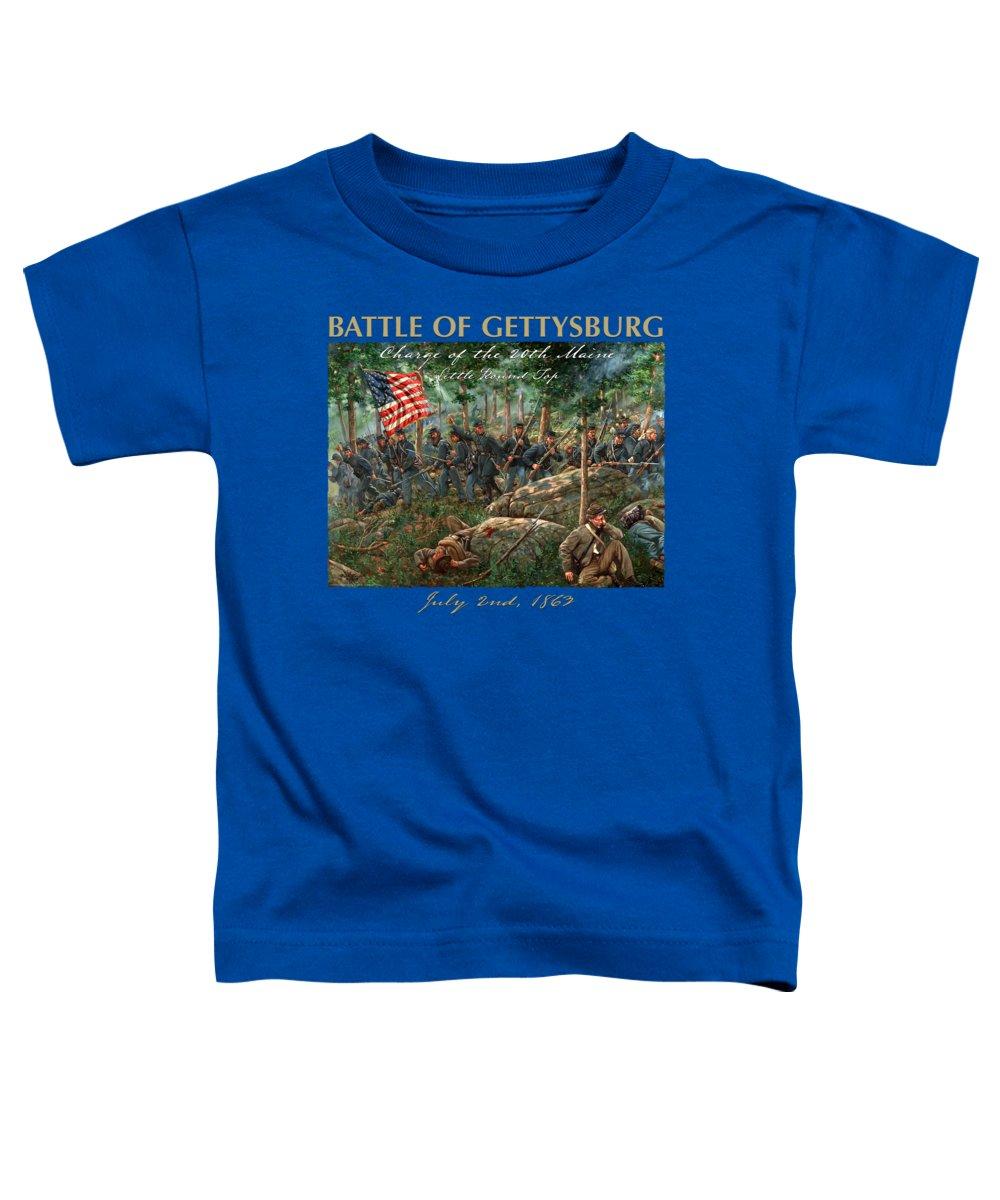 Round Toddler T-Shirts
