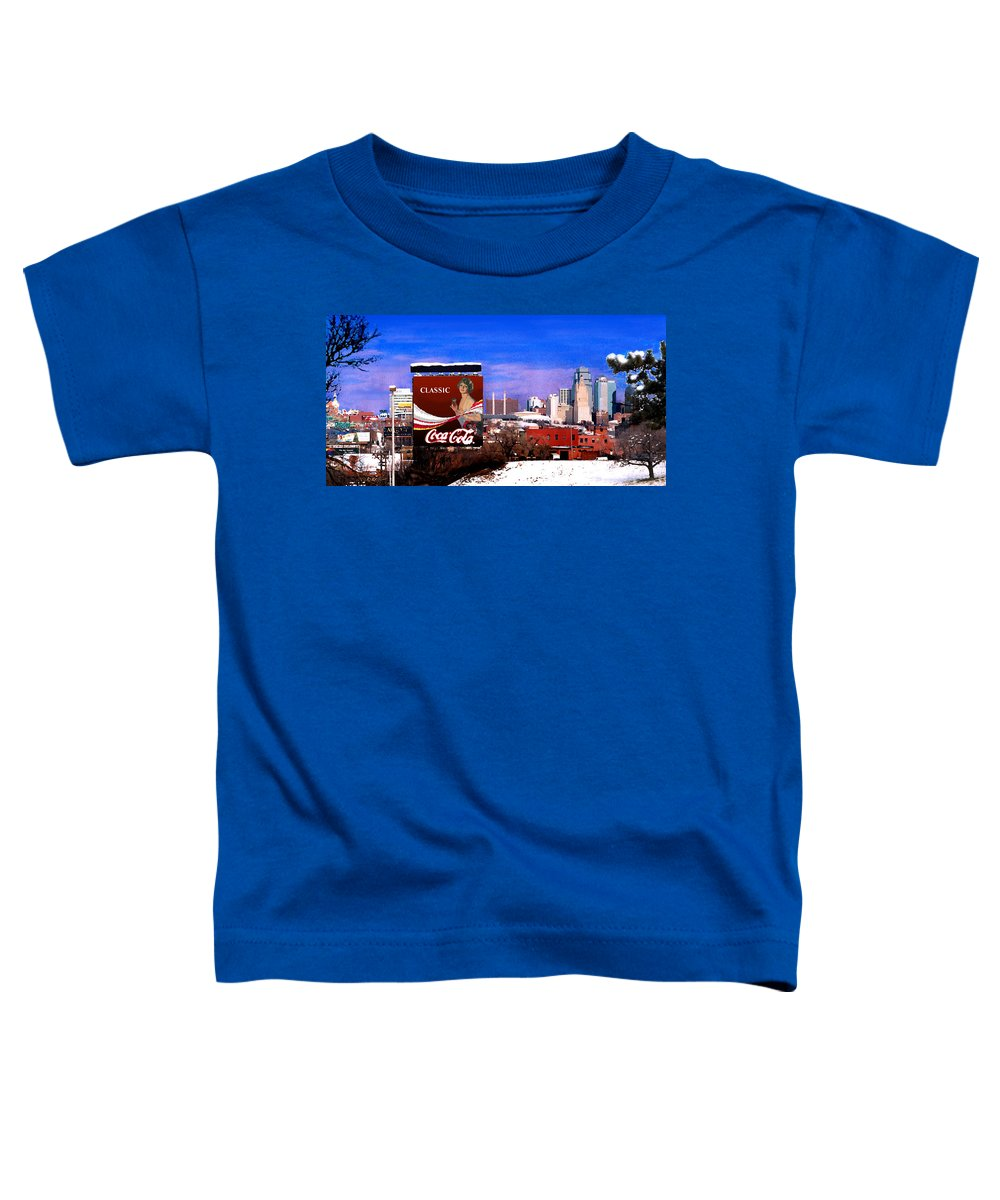 Landscape Toddler T-Shirt featuring the photograph Classic by Steve Karol