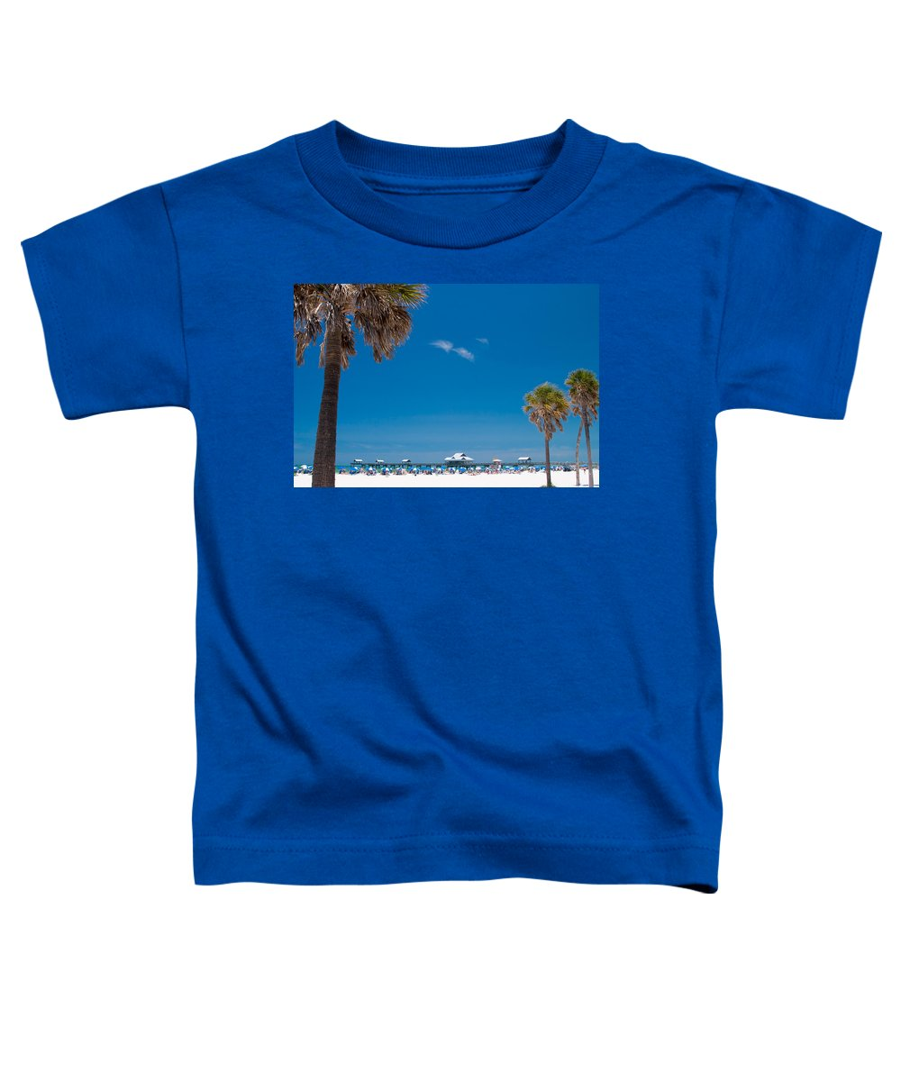 3scape Photos Toddler T-Shirt featuring the photograph Clearwater Beach by Adam Romanowicz
