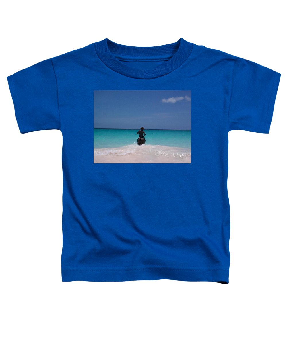 Charity Toddler T-Shirt featuring the photograph Cool Off Man by Mary-Lee Sanders