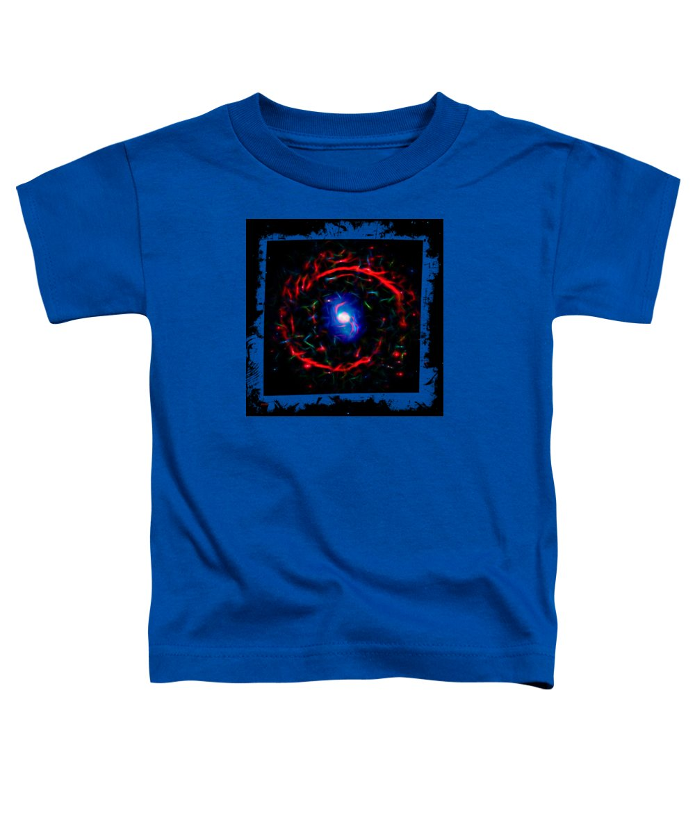 Abstract Toddler T-Shirt featuring the photograph Cosmic Eye 3 by John M Bailey
