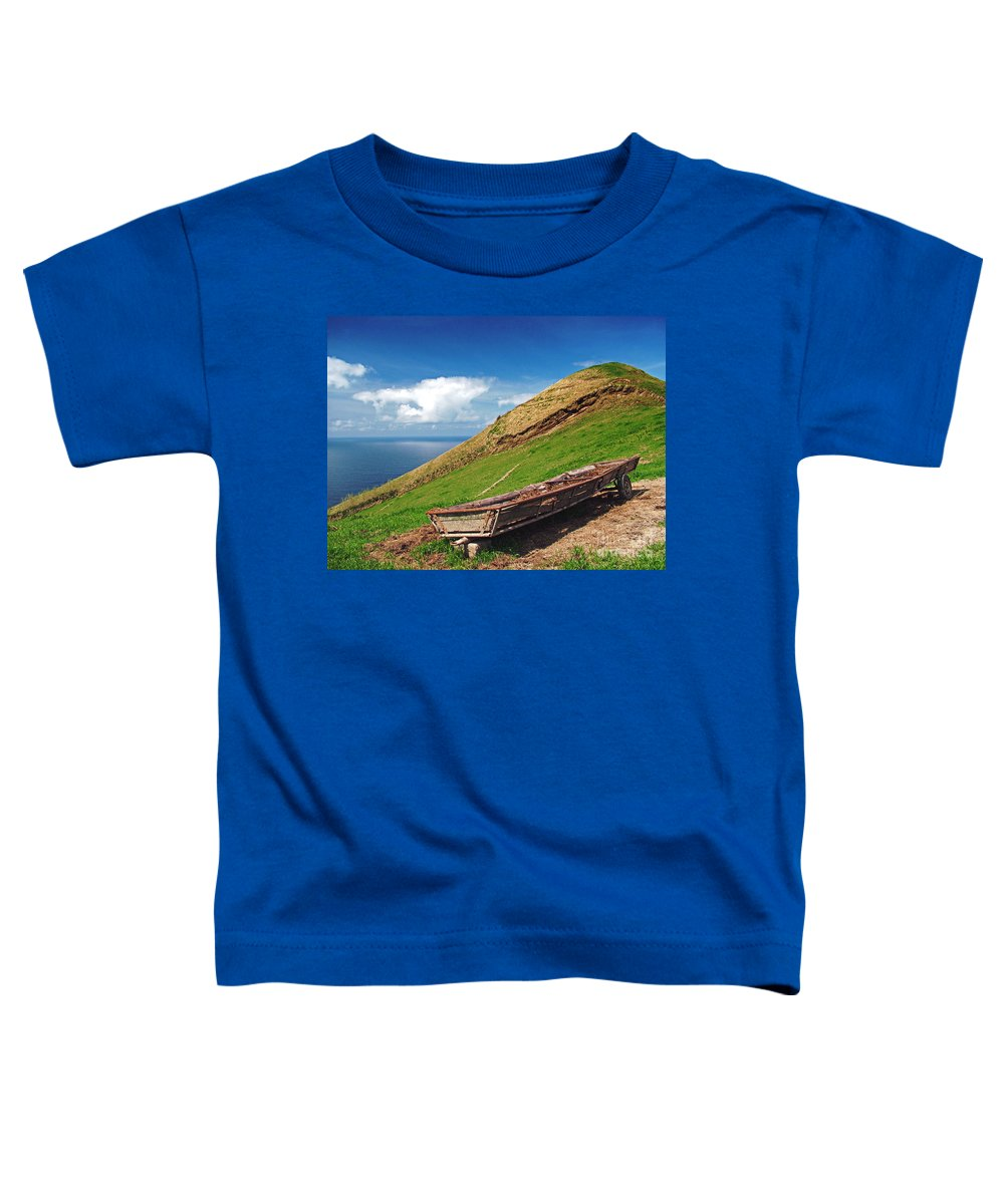 Europe Toddler T-Shirt featuring the photograph Farming In Azores Islands by Gaspar Avila
