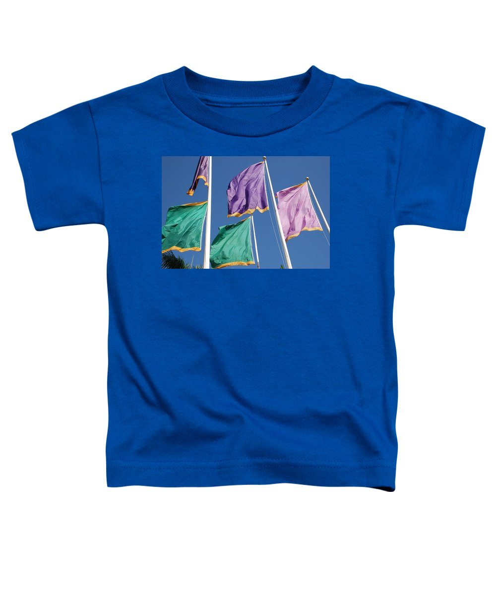 Flags Toddler T-Shirt featuring the photograph Flags by Rob Hans
