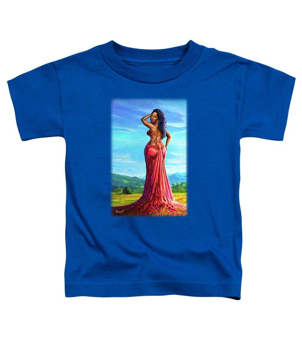 Naked Woman Toddler T-Shirts