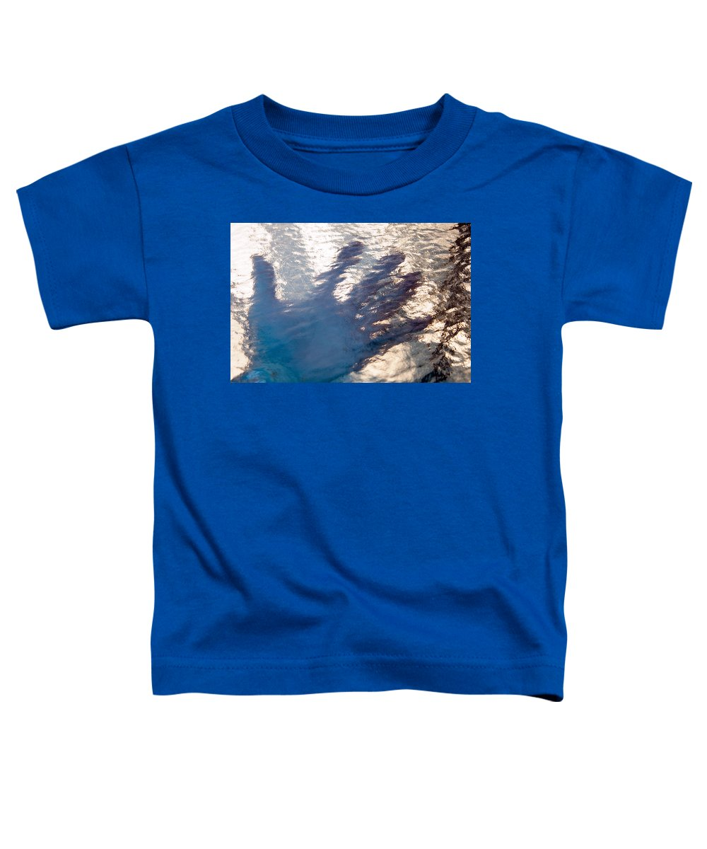 Clay Toddler T-Shirt featuring the photograph Hand Out by Clayton Bruster