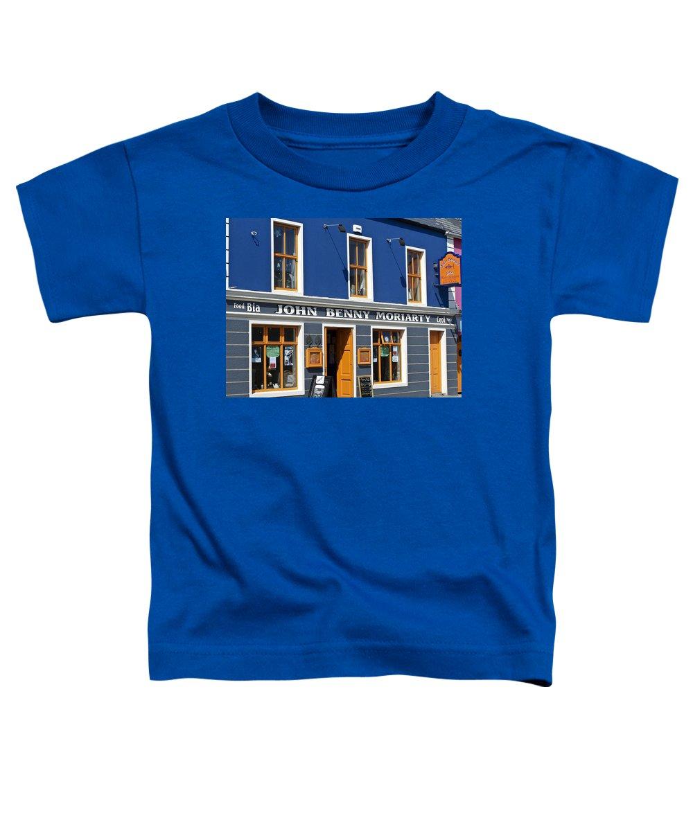 Irish Toddler T-Shirt featuring the photograph John Benny by Teresa Mucha