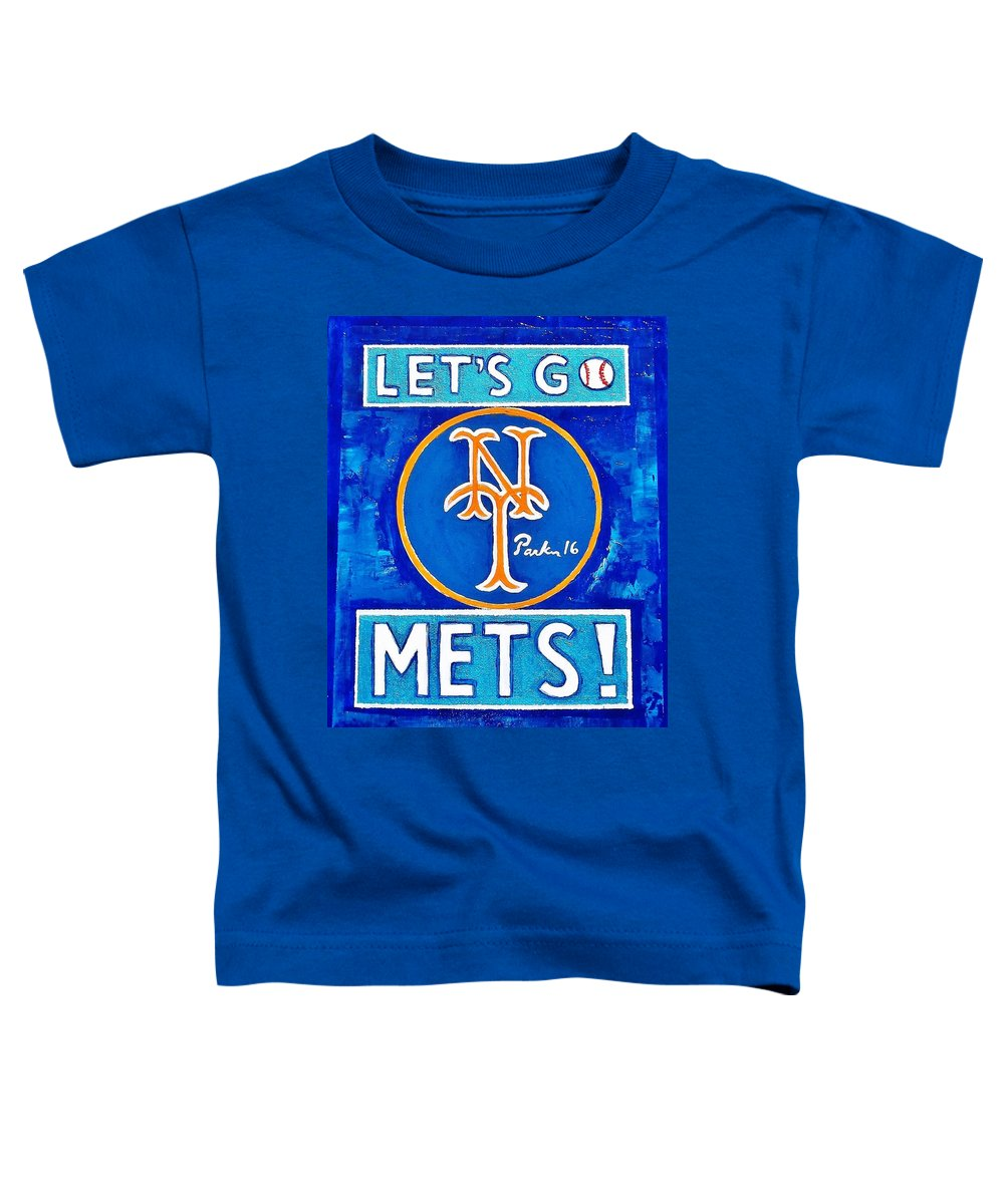lowest price a610b 2e74b Let's Go Mets Toddler T-Shirt