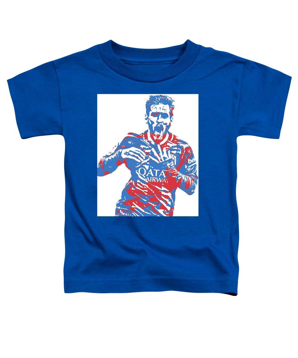 the best attitude 51240 b4e77 Lionel Messi F C Barcelona Argentina Pixel Art 5 Toddler T-Shirt