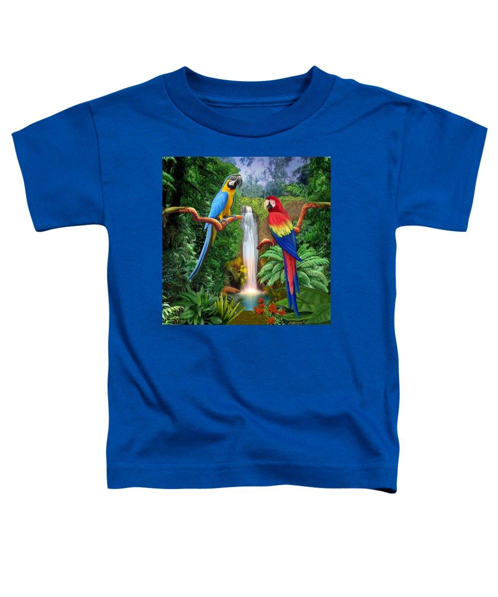 Macaw Toddler T-Shirts