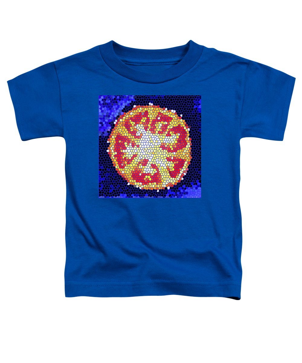 Tomato Toddler T-Shirt featuring the photograph Mosaic Tomato by Nancy Mueller