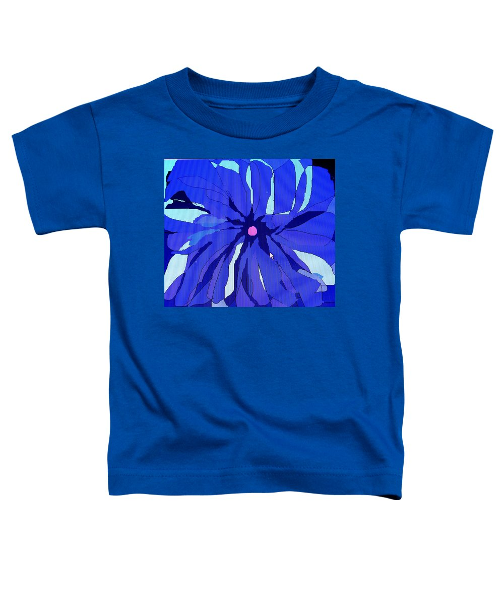 Flower Toddler T-Shirt featuring the digital art My Fantastic Flower by Ian MacDonald