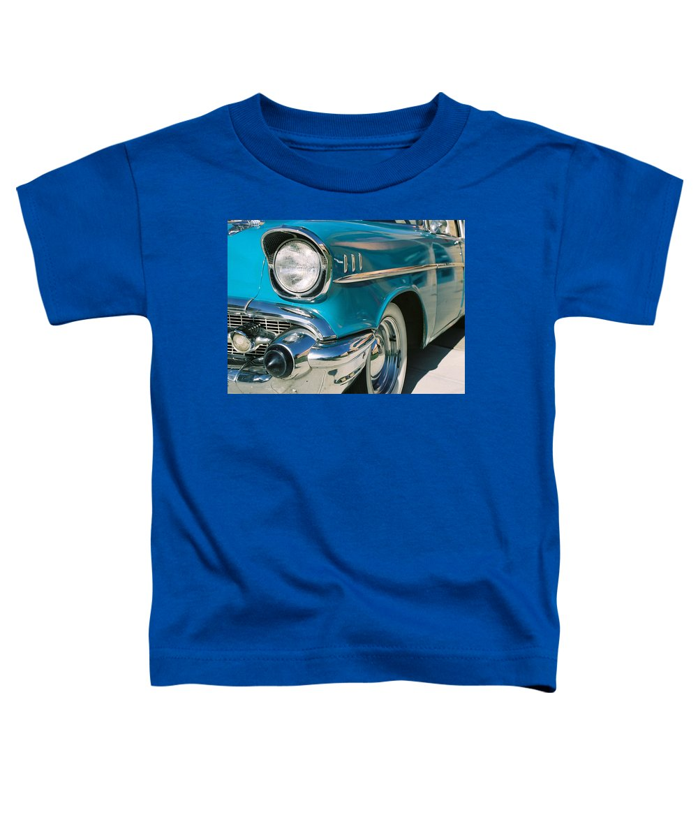 Chevy Toddler T-Shirt featuring the photograph Old Chevy by Steve Karol