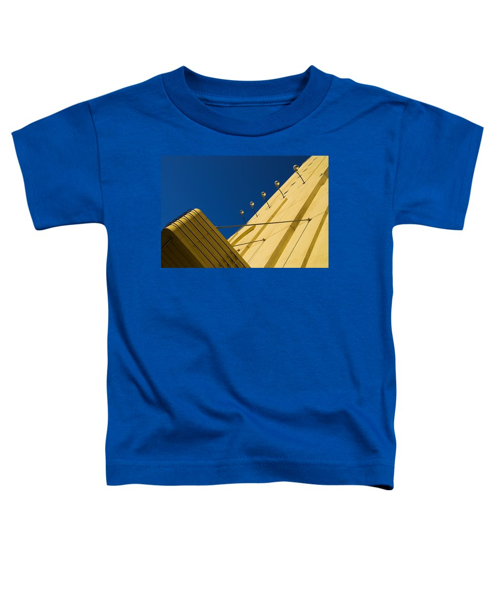 Electric Toddler T-Shirt featuring the photograph Old School Vegas by Skip Hunt