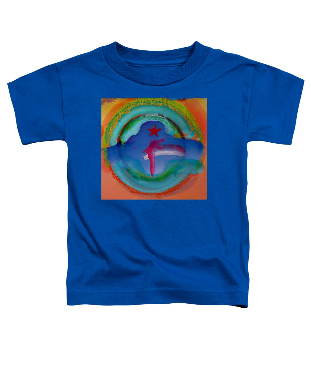 Logo Toddler T-Shirt featuring the painting one by Charles Stuart