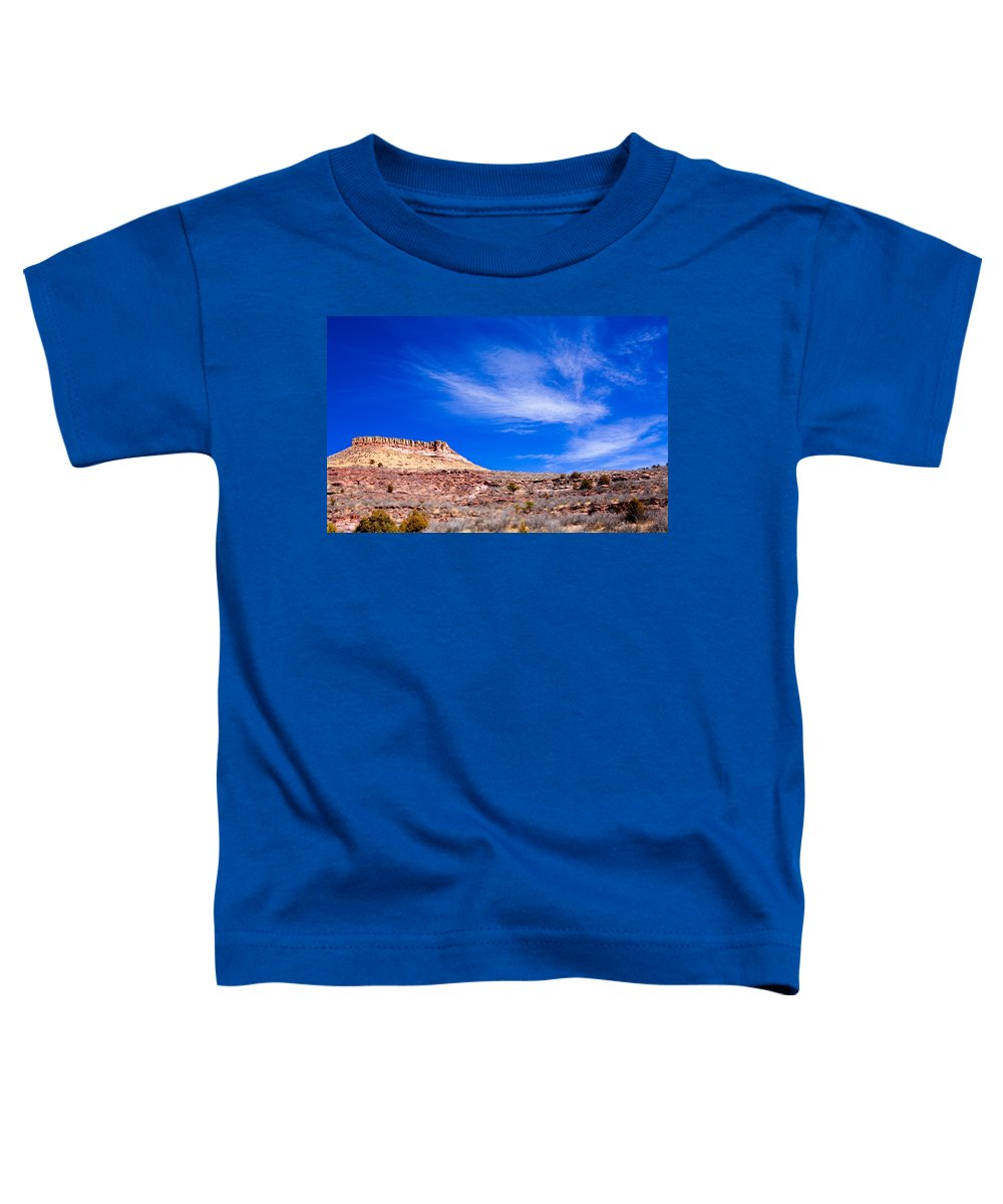 Red Toddler T-Shirt featuring the photograph Outside Lyons Colorado by Marilyn Hunt