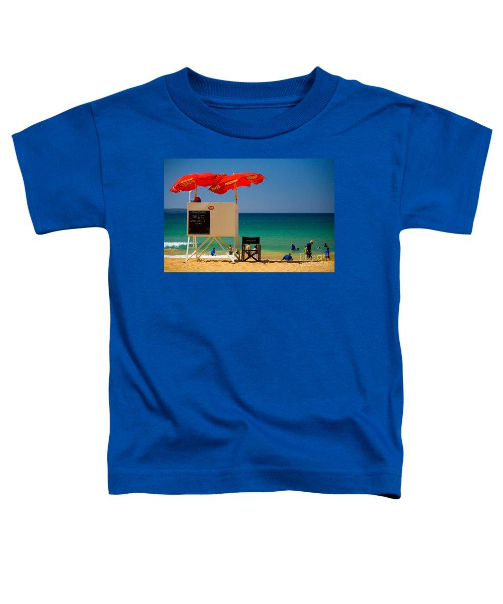 Palm Beach Sun Sea Sky Beach Umbrellas Toddler T-Shirt featuring the photograph Palm Beach Dreaming by Sheila Smart Fine Art Photography