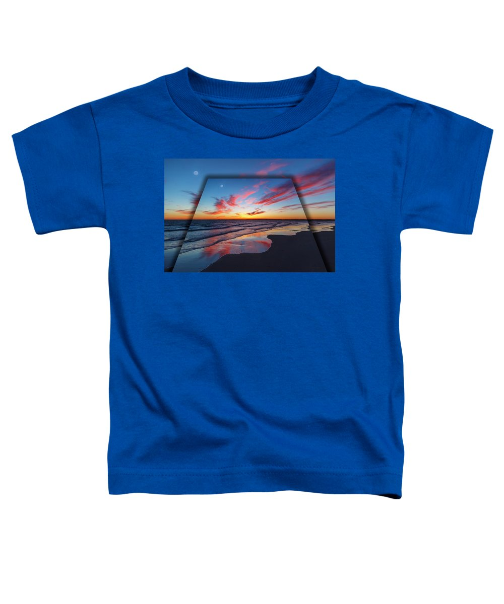 Full Toddler T-Shirt featuring the digital art Perspectives by Betsy Knapp