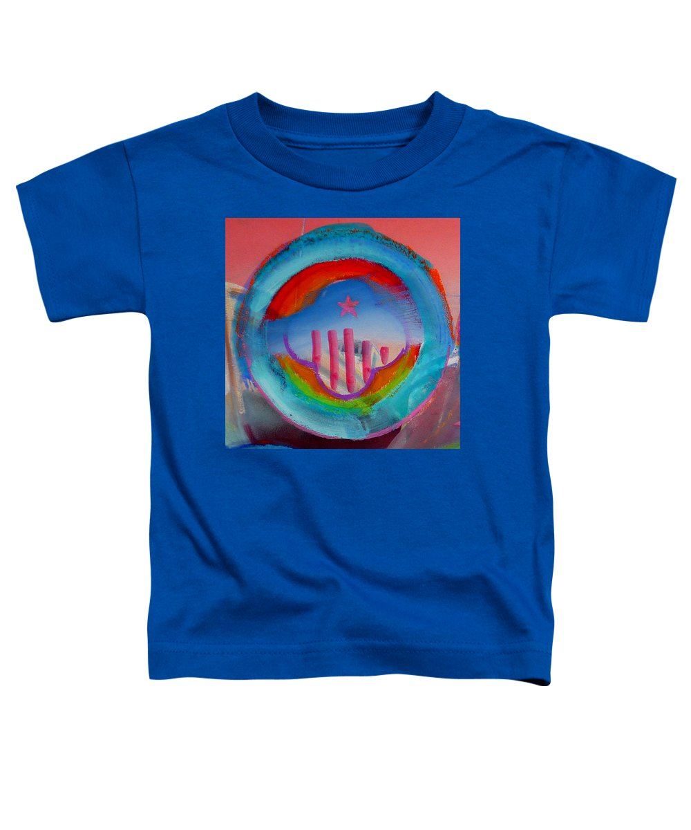 Logo Toddler T-Shirt featuring the painting Ship Of State by Charles Stuart