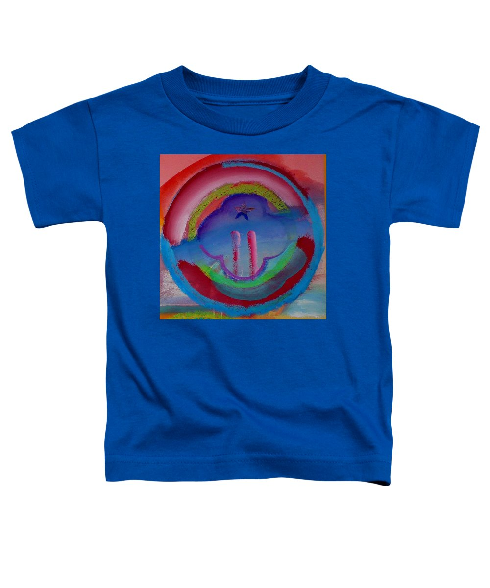 Logo Toddler T-Shirt featuring the painting two by Charles Stuart