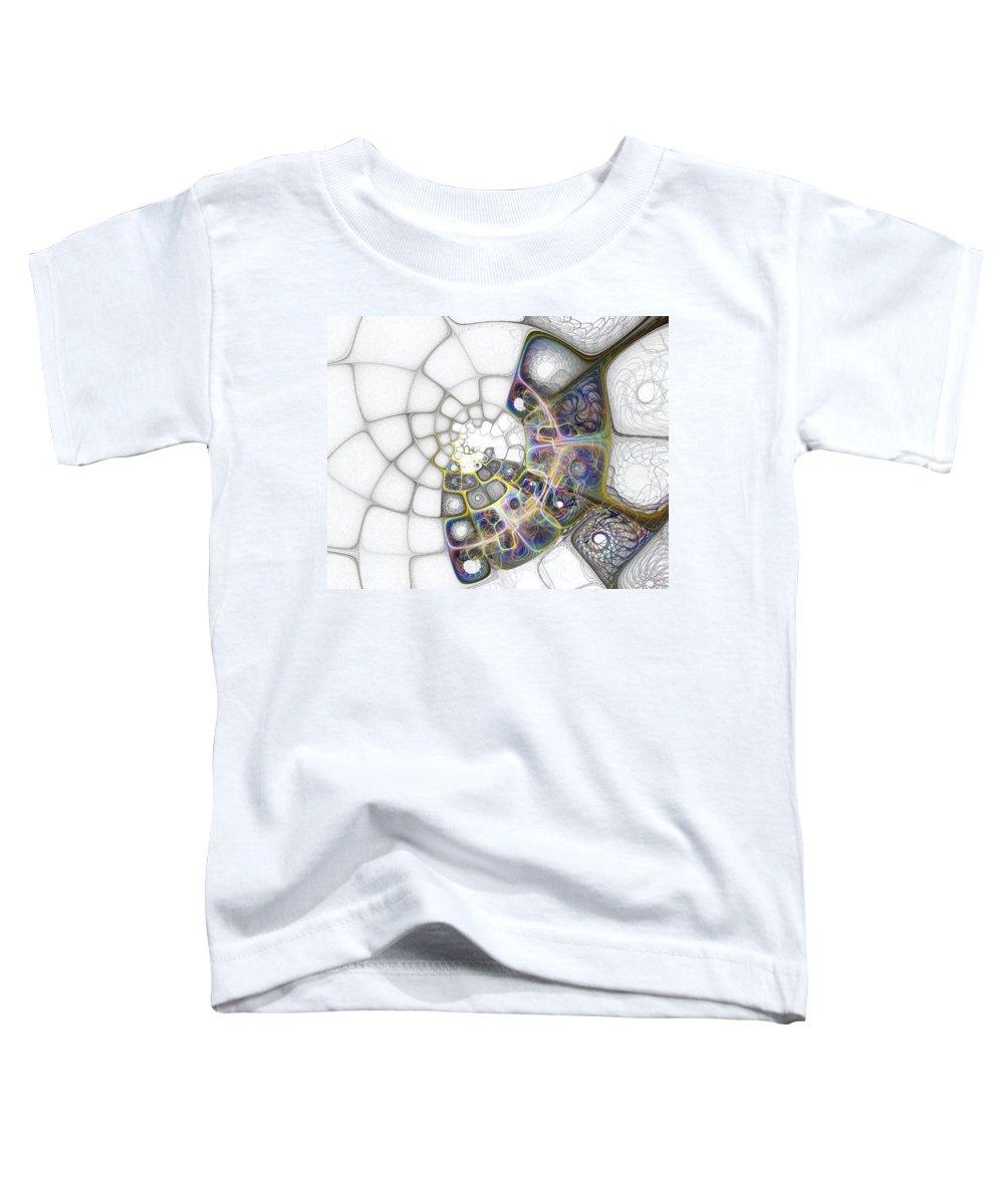 Digital Art Toddler T-Shirt featuring the digital art Memories by Amanda Moore