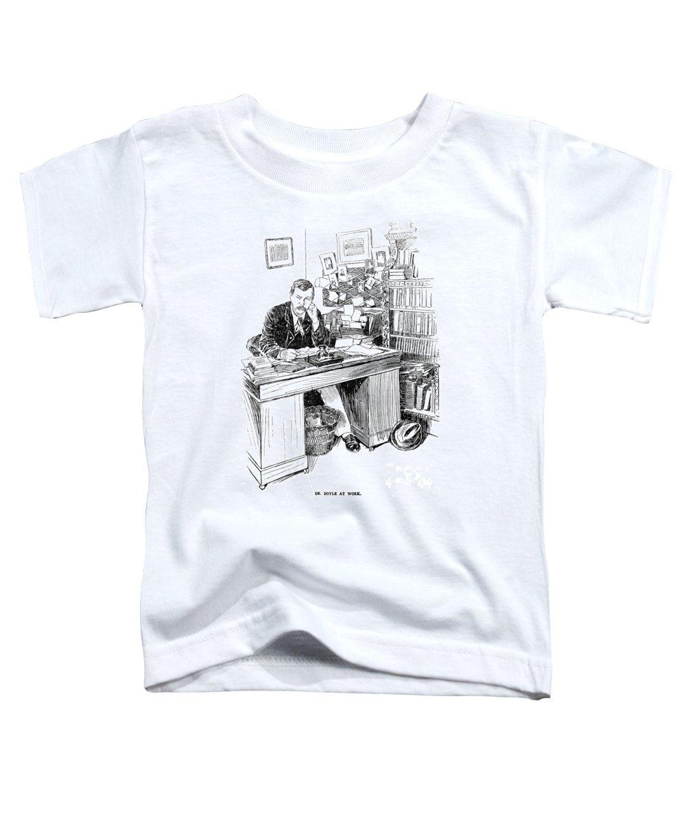 19th Century Toddler T-Shirt featuring the photograph Sir Arthur Conan Doyle (1859-1930) by Granger