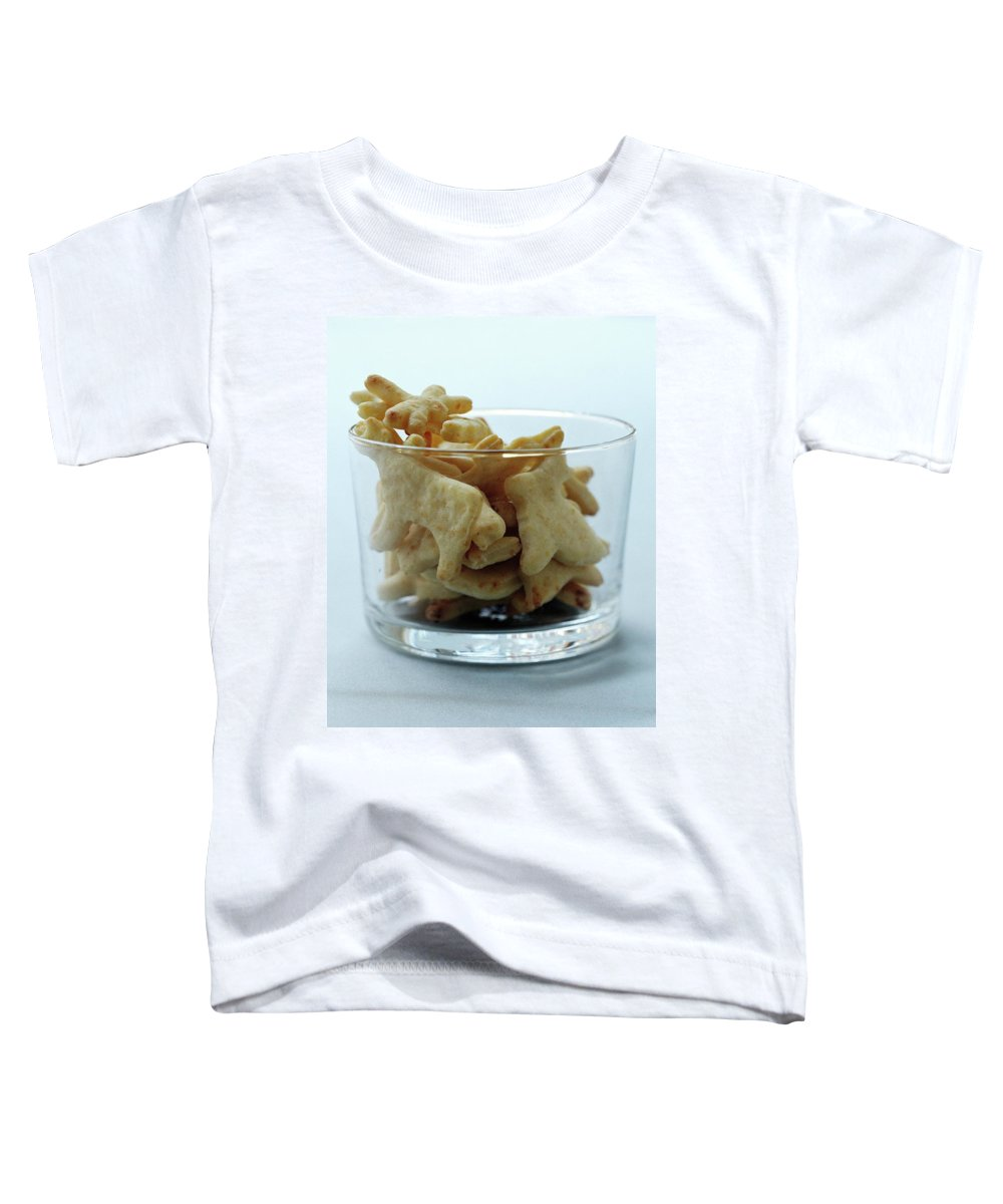 Cooking Toddler T-Shirt featuring the photograph Animal Crackers by Romulo Yanes