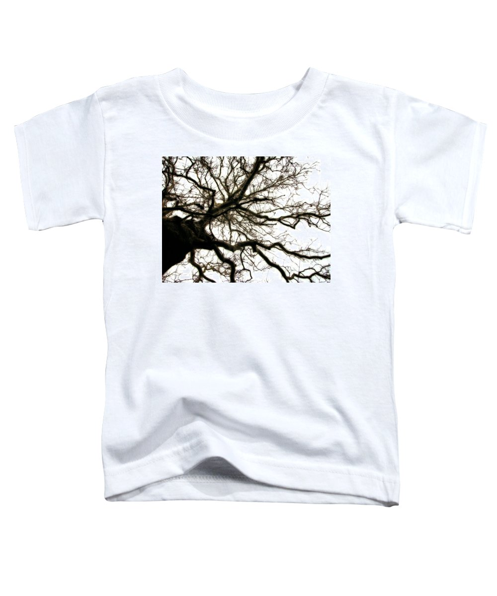 Branches Toddler T-Shirt featuring the photograph Branches by Michelle Calkins