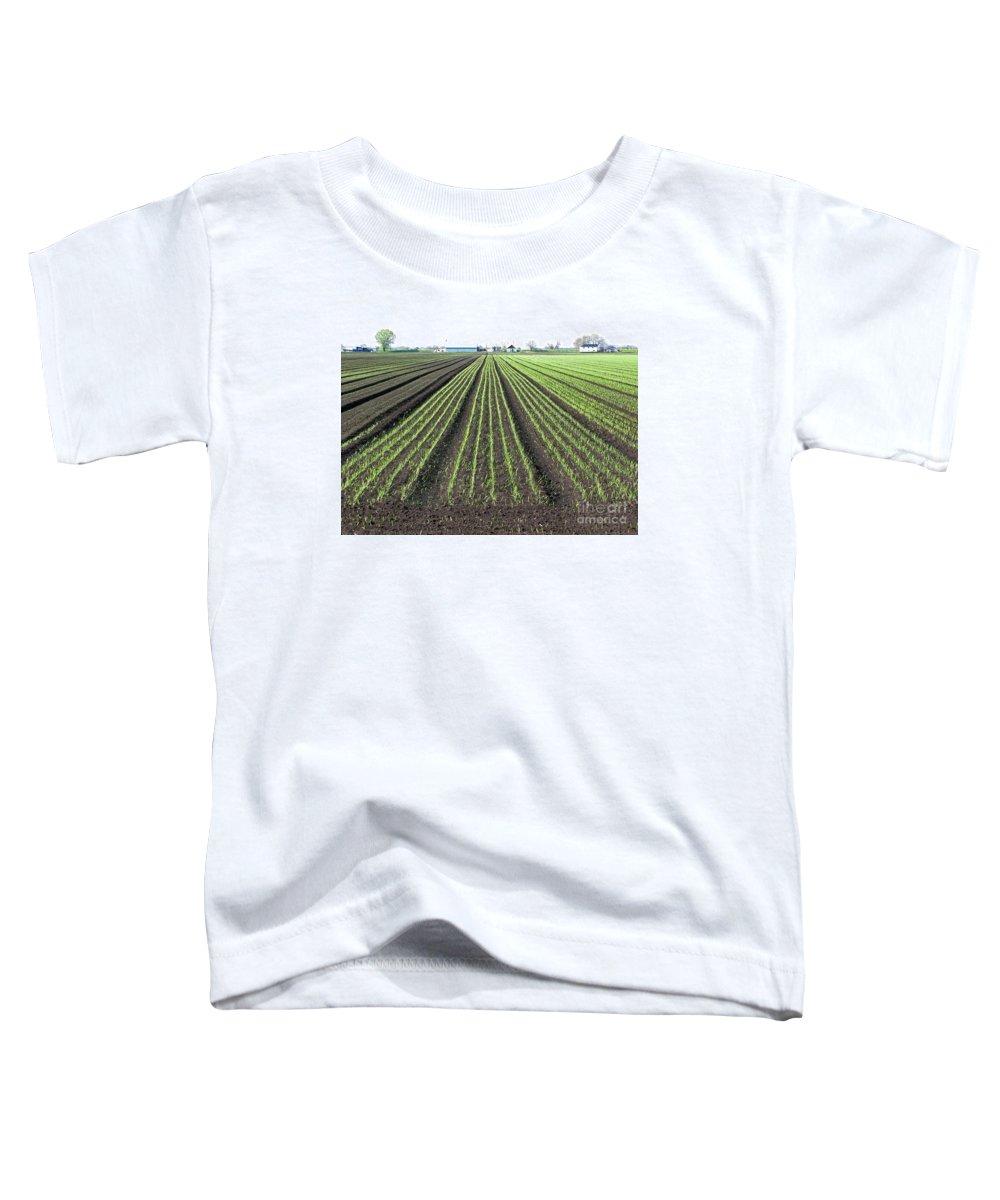 Farm Toddler T-Shirt featuring the photograph Good Earth by Ann Horn