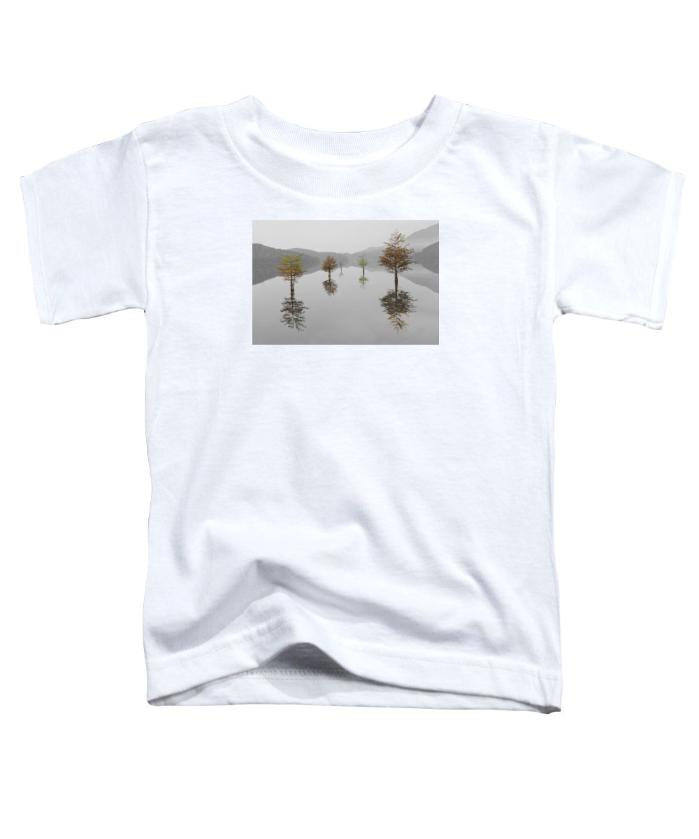 Appalachia Toddler T-Shirt featuring the photograph Hanging Garden by Debra and Dave Vanderlaan