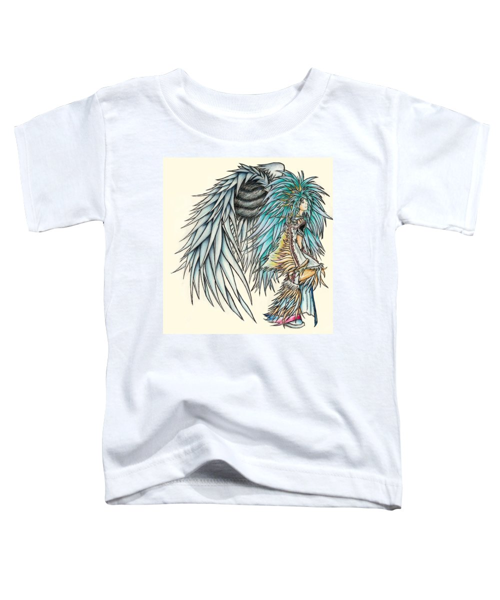 King Toddler T-Shirt featuring the painting King Crai'riain by Shawn Dall