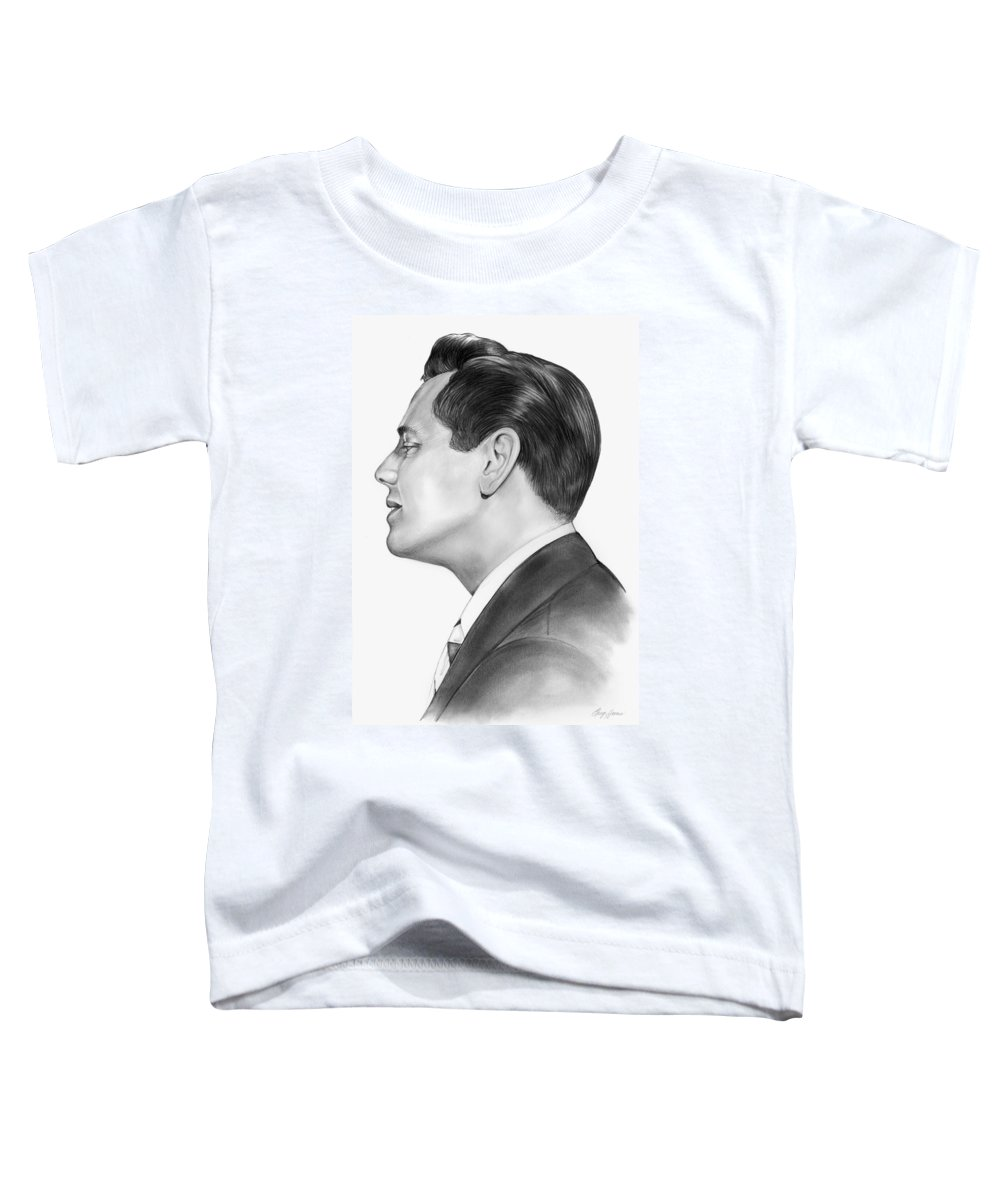Ricky Ricardo Toddler T-Shirt featuring the drawing Ricky Ricardo by Greg Joens