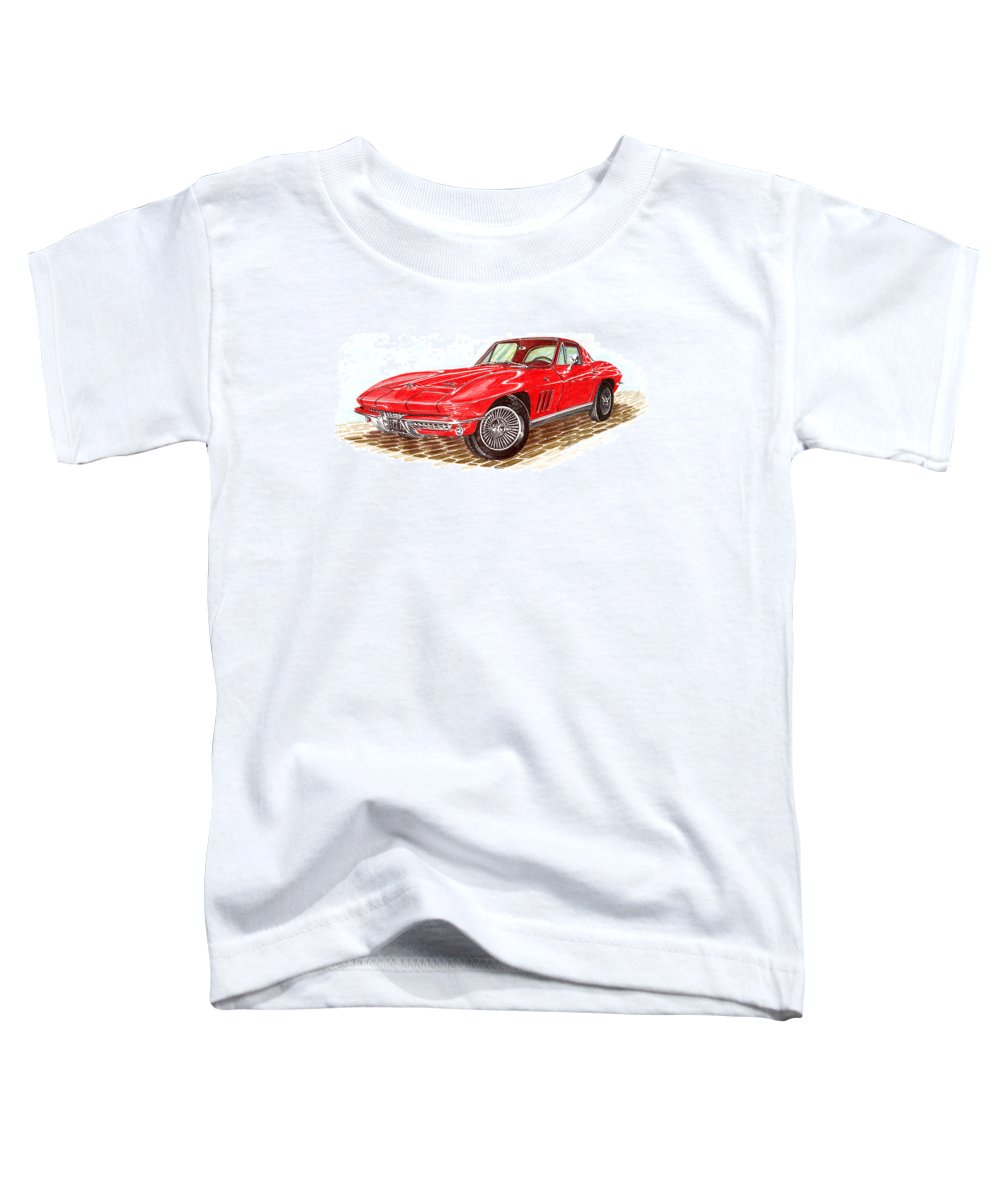Fastback Drawings Toddler T-Shirts